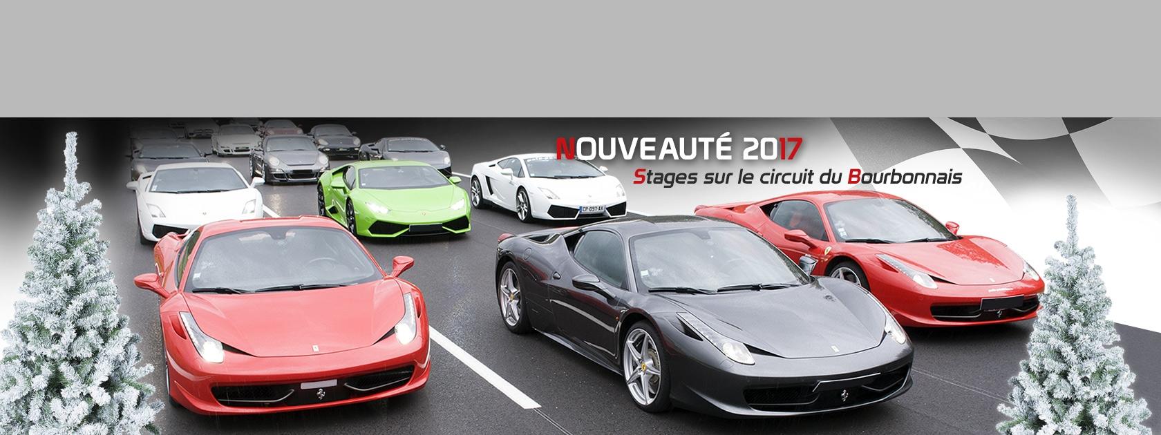 Nouveauté 2017 : Stages sur le circuit du Bourbonnais